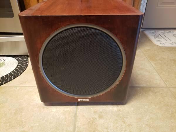 Photo Polk Audio PSW125 (BK) 12quot 150-watt Powered Subwoofer - $100 (Alexandria)