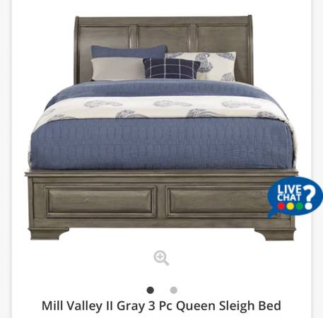 Photo Queen Sleigh Bed (and mattress) For SALE - $500 (Lake Charles)