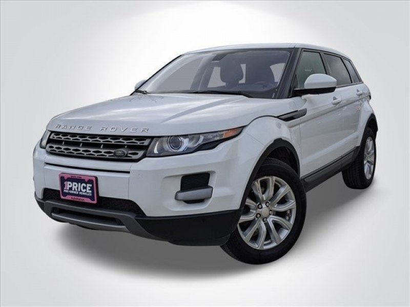 Photo Used 2015 Land Rover Range Rover Evoque Pure 4-Door for sale