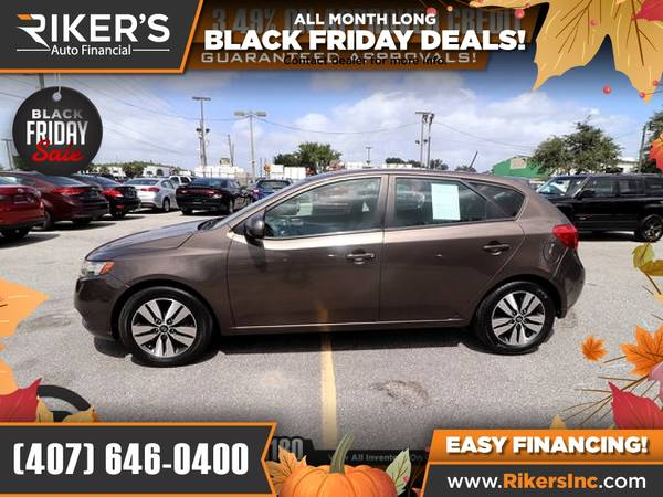 Photo $106mo - 2013 KIA Forte EX - 100 Approved - $106 (Rikers Auto Financial)