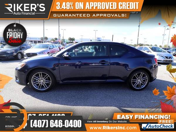 Photo $119mo - 2013 Scion tC Base - 100 Approved - $119 (Rikers Auto Financial)