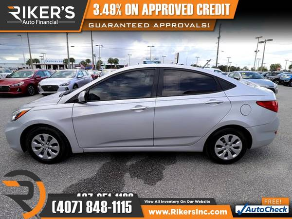 Photo $139mo - 2017 Hyundai Accent SE - 100 Approved - $139 (Rikers Auto Financial)