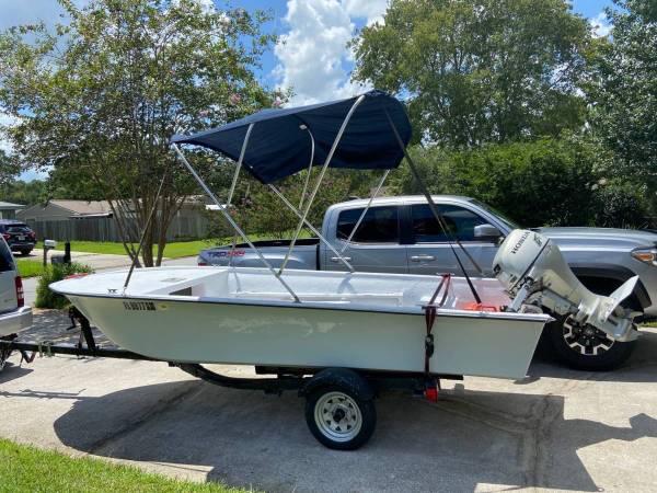 Photo 14ft boat 15 HP outboard motor - $3,800 (Orange Park)