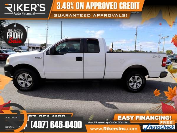Photo $159mo - 2008 Ford F-150 XLTExtended Cab - 100 Approved - $159 (Rikers Auto Financial)