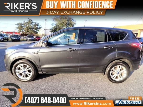 Photo $179mo - 2017 Ford Escape SE - 100 Approved - $179 (Rikers Auto Financial)