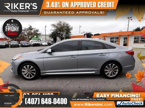 Photo $186mo - 2017 Hyundai Sonata Sport - 100 Approved - $186 (Rikers Auto Financial)