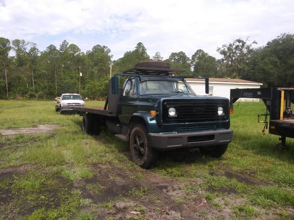 Photo 1979 chevy rollback tow truck c6500 - $5000 (Lake City)