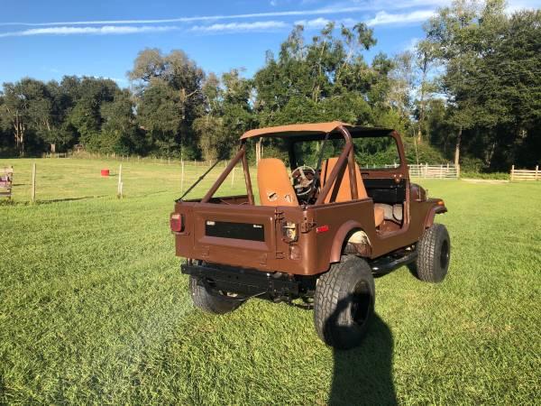 Photo 1980 Jeep cj-7 - $7500 (Live oak)