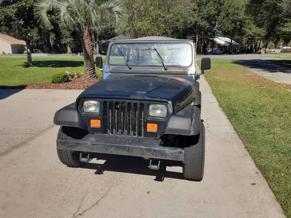 Photo 1993 Jeep wrangler - $3,879 (Lake City)