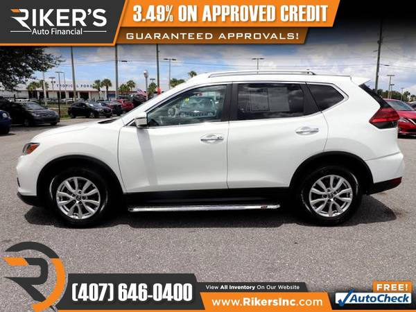 Photo $199mo - 2017 Nissan Rogue SV - 100 Approved - $199 (Rikers Auto Financial)