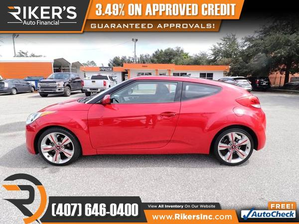 Photo 2013 Hyundai Veloster wBlack Int FOR ONLY $119mo - $119 (Rikers Auto Financial)