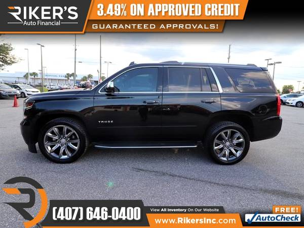 Photo 2015 Chevrolet Tahoe LTZ FOR ONLY $664mo - $664 (Rikers Auto Financial)