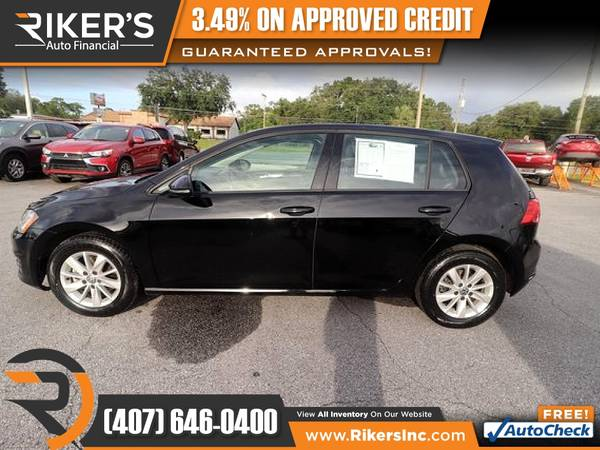 Photo 2015 Volkswagen Golf TSI S FOR ONLY $146mo - $146 (Rikers Auto Financial)