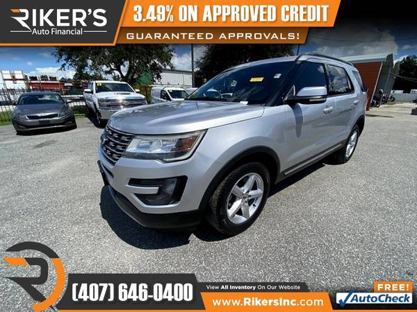 Photo 2016 Ford Explorer XLT FOR ONLY $259mo - $259 (Rikers Auto Financial)
