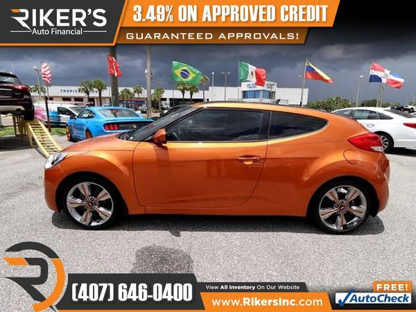 Photo 2016 Hyundai Veloster FOR ONLY $149mo - $149 (Rikers Auto Financial)