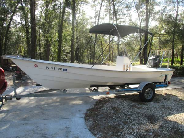 Photo 2039 CENTER CONSOLE SHALLOW DRAFT RIG - $7,500 (DUNNELLON)