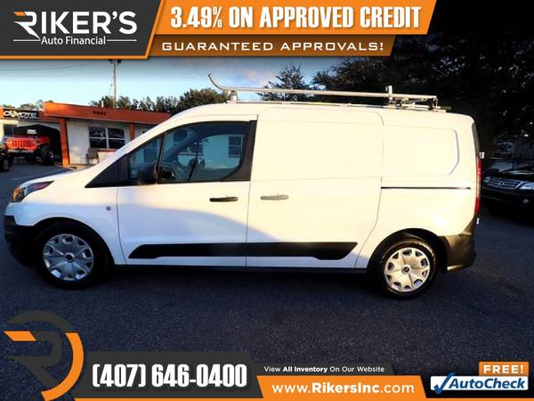 Photo $212mo - 2016 Ford Transit Connect XL Cargo Van - 100 Approved - $212 (Rikers Auto Financial)