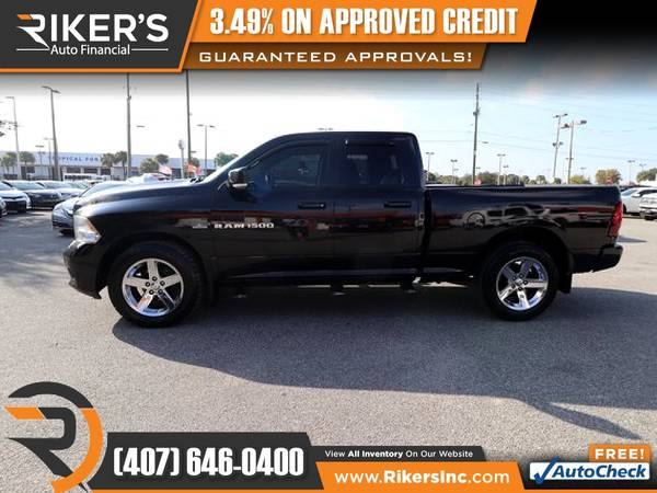 Photo $219mo - 2011 Ram 1500 SportExtended Cab - 100 Approved - $219 (Rikers Auto Financial)