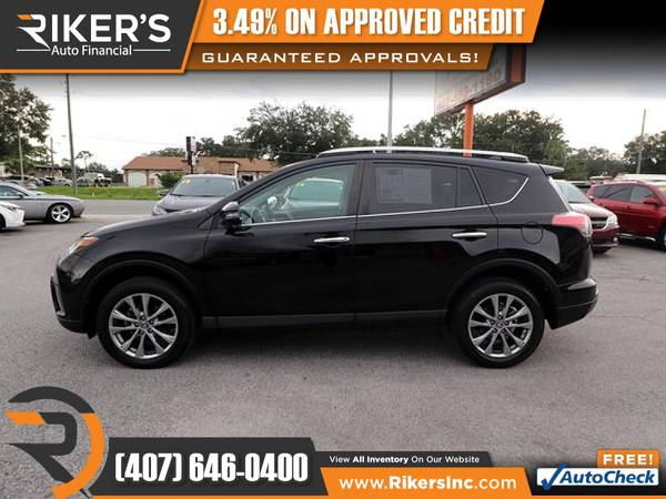 Photo $229mo - 2016 Toyota RAV4 Limited - 100 Approved - $229 (Rikers Auto Financial)