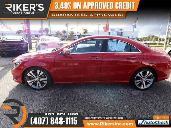 Photo $272mo - 2016 Mercedes-Benz CLA 250 - 100 Approved - $272 (Rikers Auto Financial)