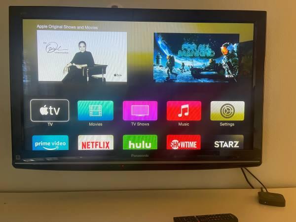 Photo 42 Panasonic Plasma TV - $50 (Town center)