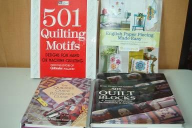 Photo 501 Quilt MotifsEnglish Paper Piece - $11 (The Villages, Fl)