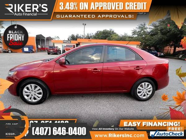 Photo $73mo - 2012 KIA Forte EX - 100 Approved - $73 (Rikers Auto Financial)