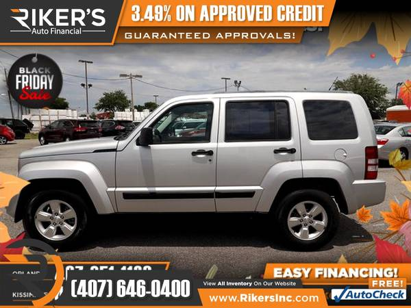 Photo $93mo - 2011 Jeep Liberty - 100 Approved - $93 (Rikers Auto Financial)