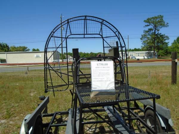 Photo AIR BOAT RIGGING - $750 (Lake City)