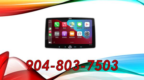 Photo Car Audio 10quot Touch Screen Bluetooth Car Stereo Installed - $559 (Jacksonville)