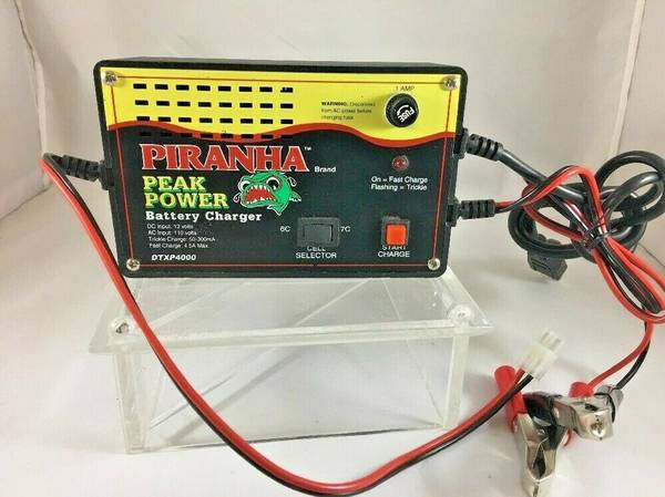 Photo DURATRAX PIRANHA RC ACDC PEAK POWER BATTERY CHARGER - $25 (Lake City)