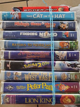 Photo Disney VHS Tapes - $20 (Wellborn, FL)