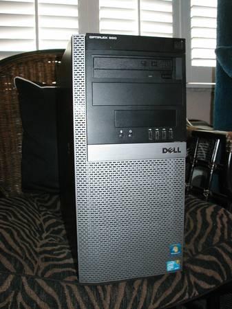 Photo Intel Core i7 3.6Ghz Dell Optiplex Twr 4Gb ram Windows 10, Office Pro - $250 (Gainesville, NW 39th Ave near SF College)