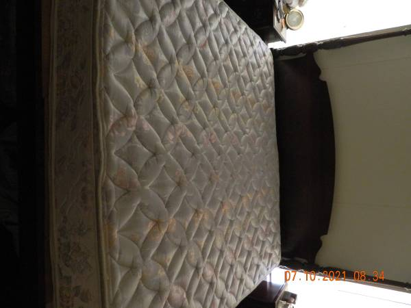Photo King Size Simmons Beautyrest Kensington Luxury Dbl Pillow Top Mattress - $50 (Lake City)