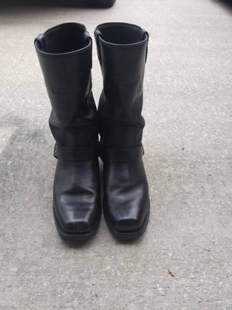 Photo Mens Harley Davidson Boots  size 9.5 - $60 (JACKSONVILLE)