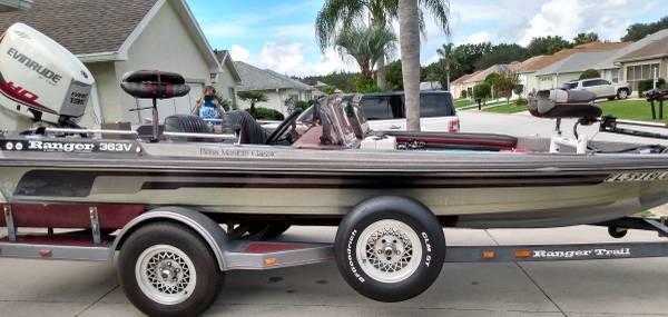 Photo Ranger Bass Boat - $9,500 (Summerfield, FL)