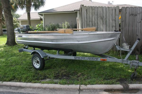 Photo Sea King V Hull Jon Boat with 6 HP Suzuki - $2,000 (Middleburg)