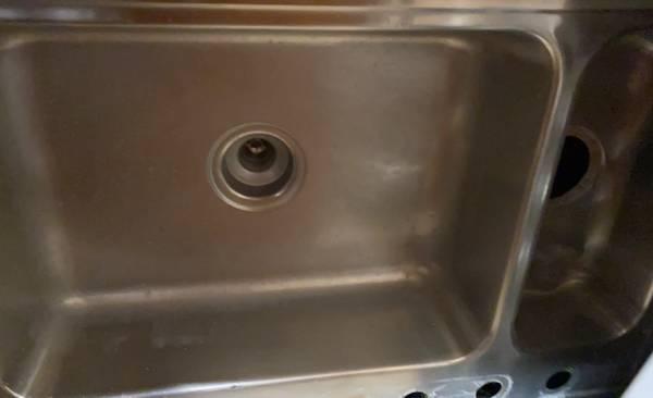 Photo Stainless steel sink - $20 (Ocala)