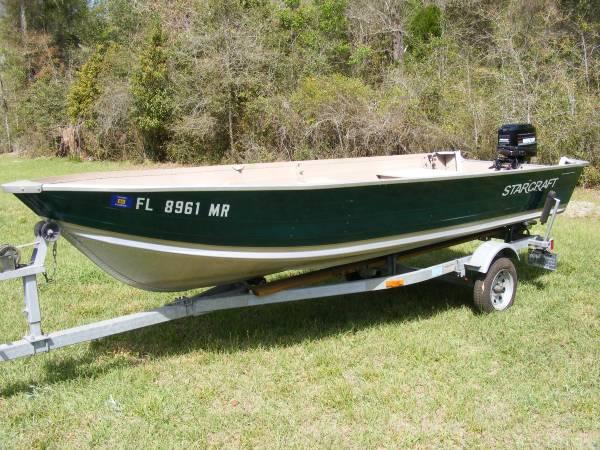 Photo Starcraft Boat - $5,500 (Live Oak)