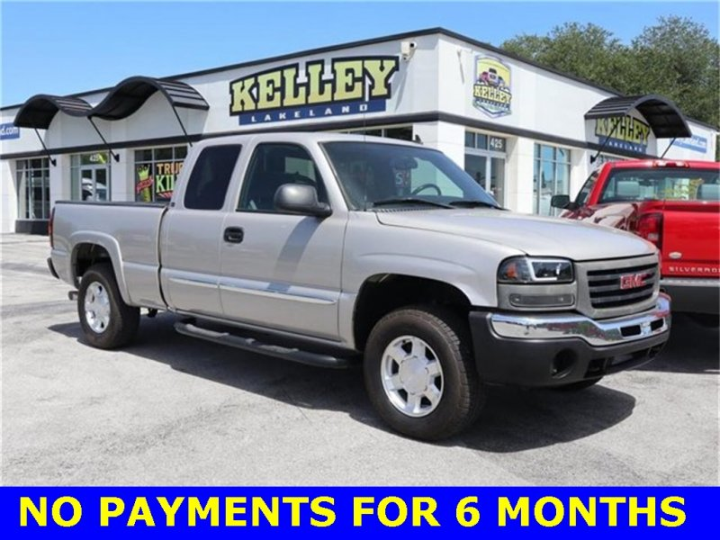 Photo Used 2006 GMC Sierra 1500 4x4 Extended Cab for sale