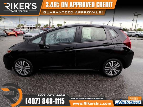 Photo $138mo - 2016 Honda Fit EX - 100 Approved - $138 (Rikers Auto Financial)