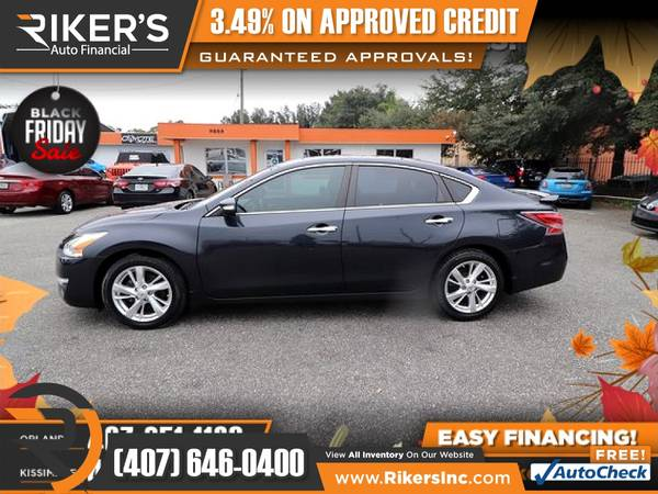 Photo $153mo - 2015 Nissan Altima 2.5 SL - 100 Approved - $153 (Rikers Auto Financial)