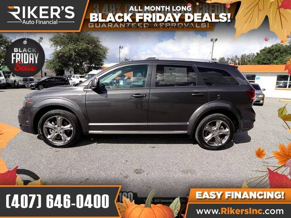 Photo $165mo - 2016 Dodge Journey Crossroad - 100 Approved - $165 (Rikers Auto Financial)