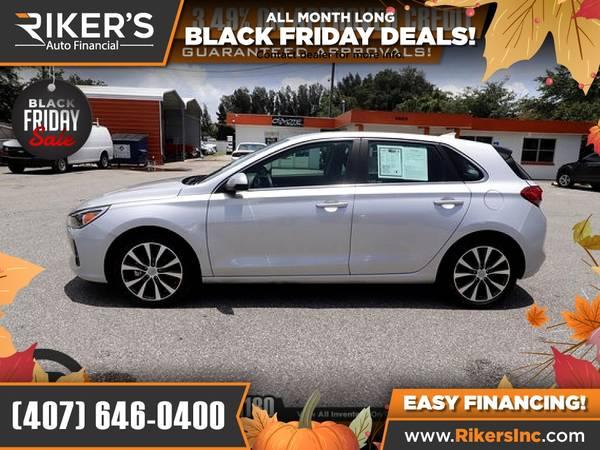 Photo $168mo - 2019 Hyundai Elantra GT Base - 100 Approved - $168 (Rikers Auto Financial)