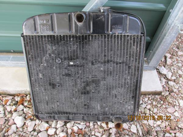 Photo 1956 Chevy Belair Radiator - $80 (lakeland florida)