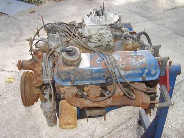 Photo 1969 Ford 302 Engine (Orange City)