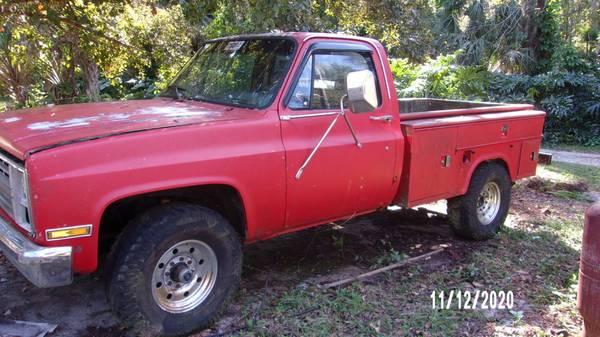 Photo 1986 K20 Chevy Square Body - $4,000 (Lake Wales)