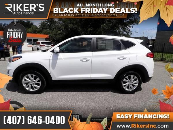 Photo $198mo - 2019 Hyundai Tucson SE - 100 Approved - $198 (Rikers Auto Financial)