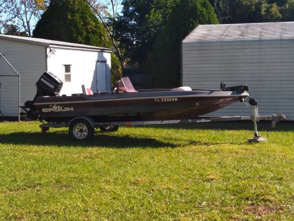 Photo 1991 CAJUNMASTERCRAFTERS BASS BOAT FOR SALE - $3,200 (Auburndale)