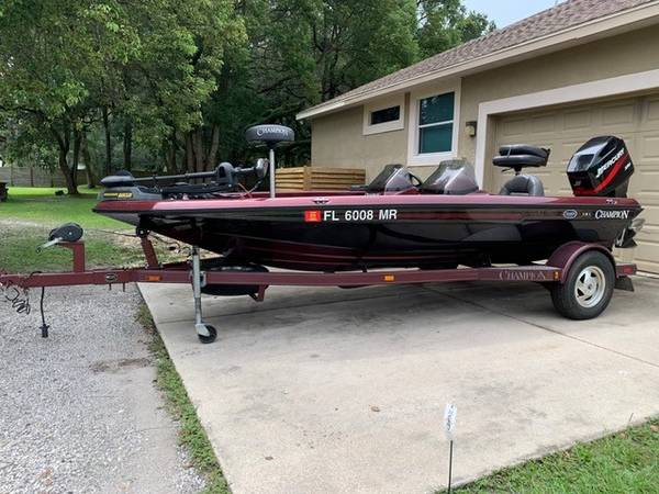 Photo 2001 Chion Bass Boat For Sale - $9,900 (Plant City)
